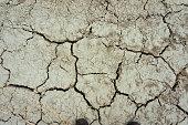 Full Frame Photo Of Cracked Earth