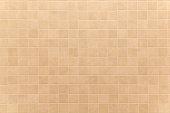 Full Frame Shot Of  Beige Tiled Wall