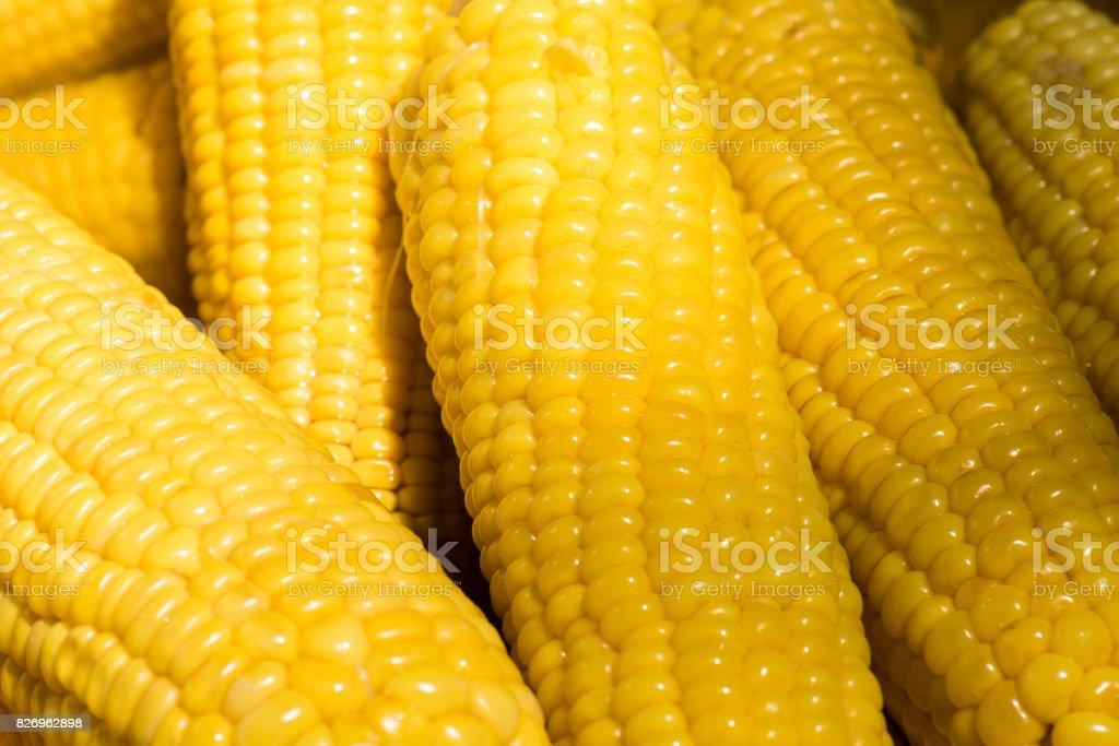 Full frame shot of corn stock photo