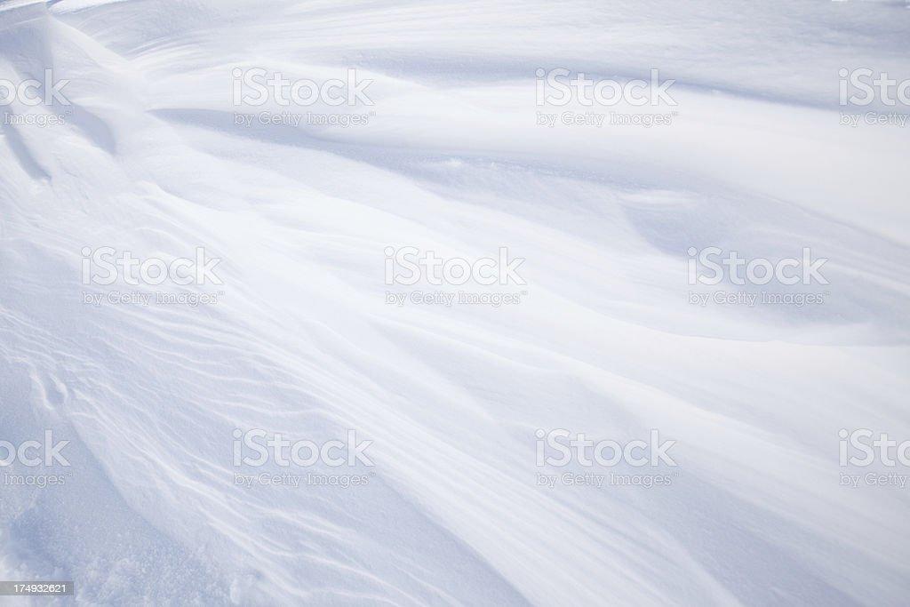 Full frame snow background stock photo