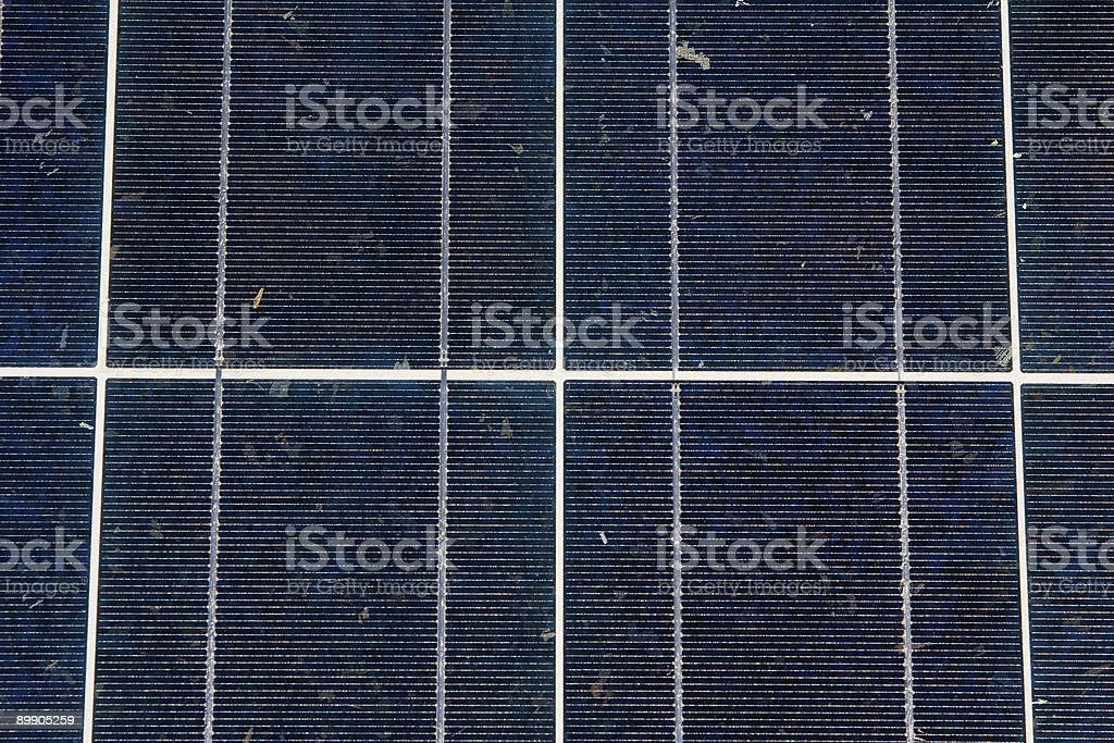 Full Frame Solar panels royalty-free stock photo