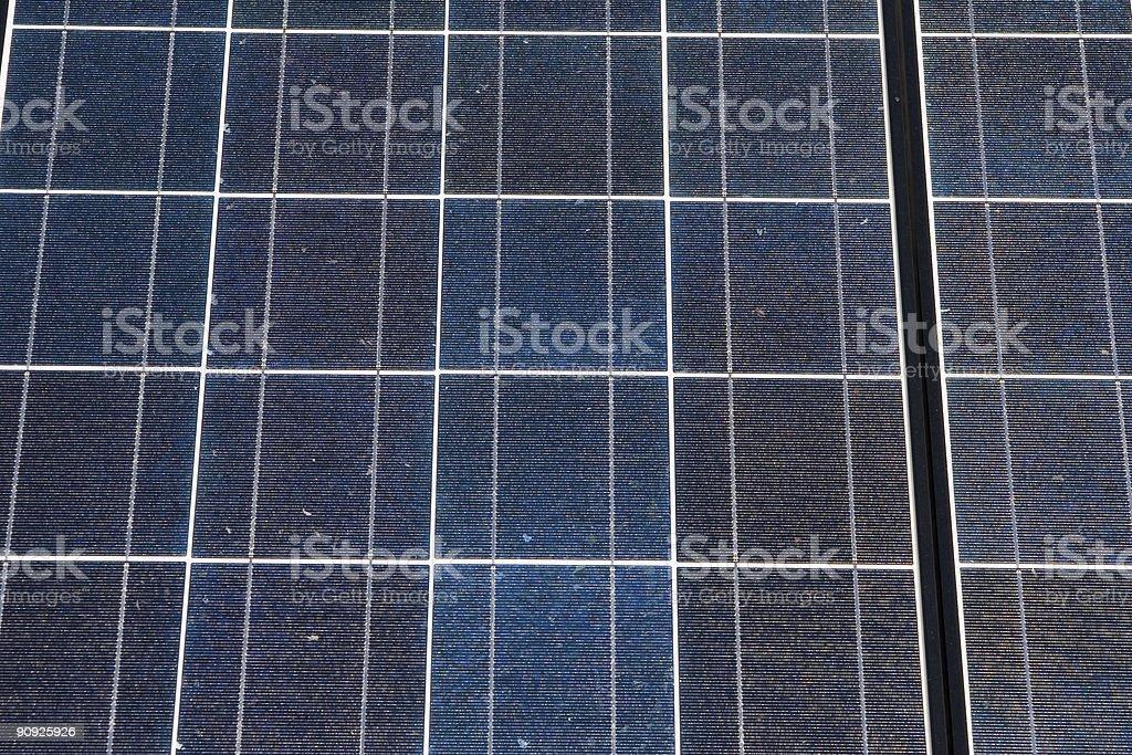 Full Frame Solar panels royalty-free stock photo
