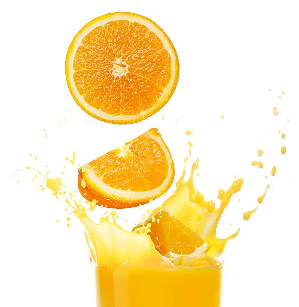 orange Orangensaft – Foto