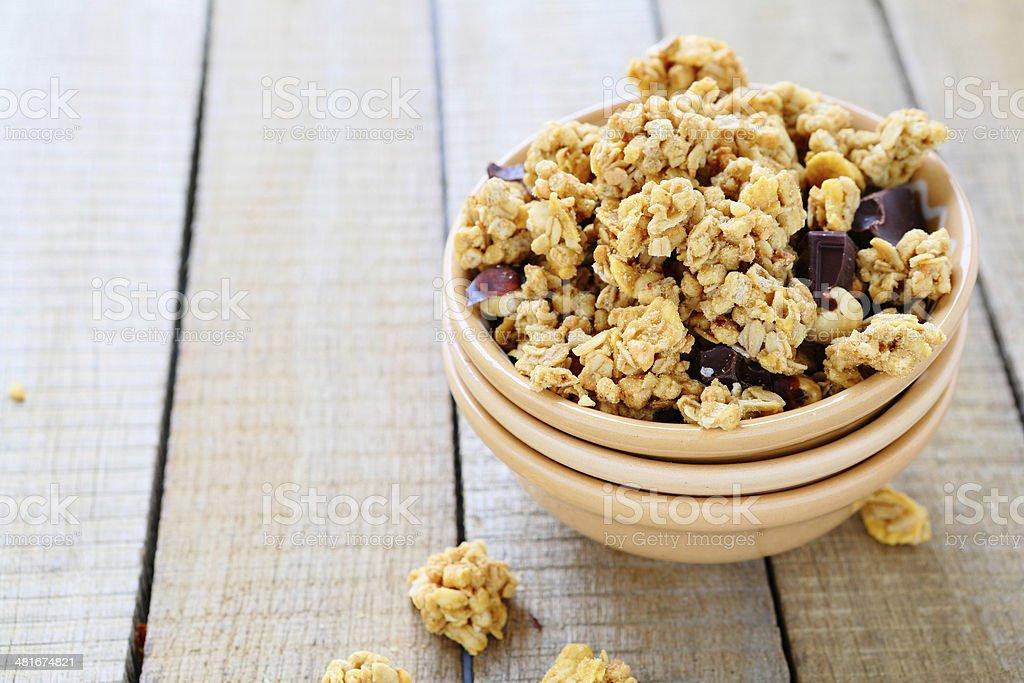 Un desayuno saludable - Foto de stock de Macrofotografía libre de derechos