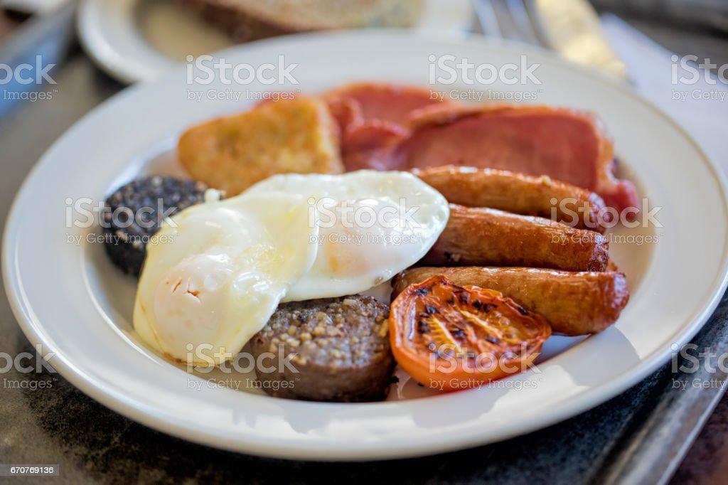 Full Irish breakfast stock photo