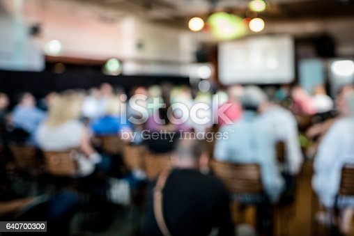 istock Full lecture 640700300