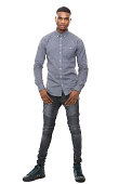 istock Full length handsome african american man 521071475