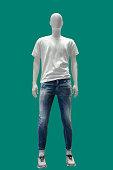 istock Full length male mannequin. 1289535860