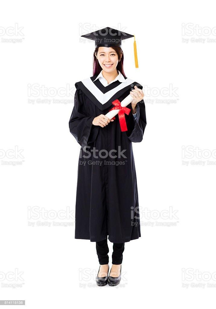 Fotografía de Encuadre De Cuerpo Entero De Mujer Joven Universidad ...