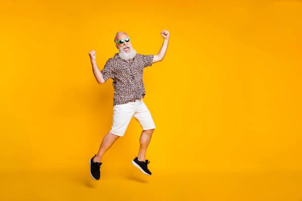 Full length photo of funny funky lucky old bearded man in green picture id1174134762?b=1&k=6&m=1174134762&s=612x612&w=0&h=hzd7mx9ceoj2t9cagmra78wxhebf7bjov3rm xo64wy=