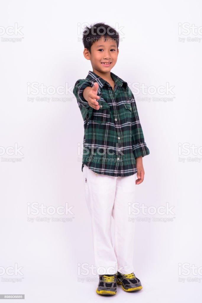 white asian boy