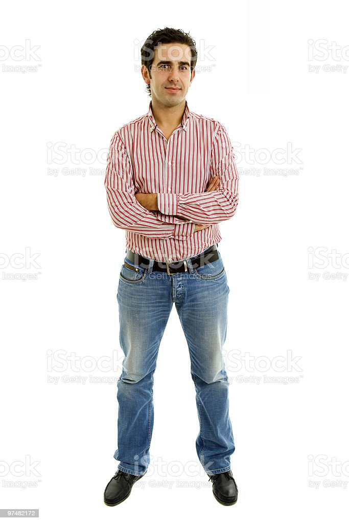 full man stock photo