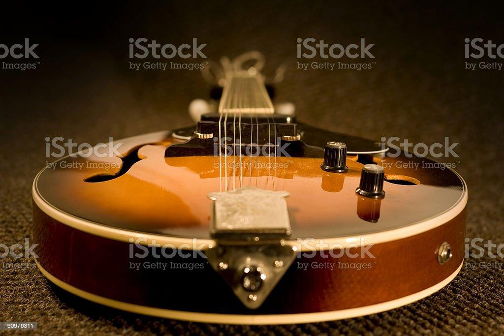 Full Mandolin royalty-free stock photo