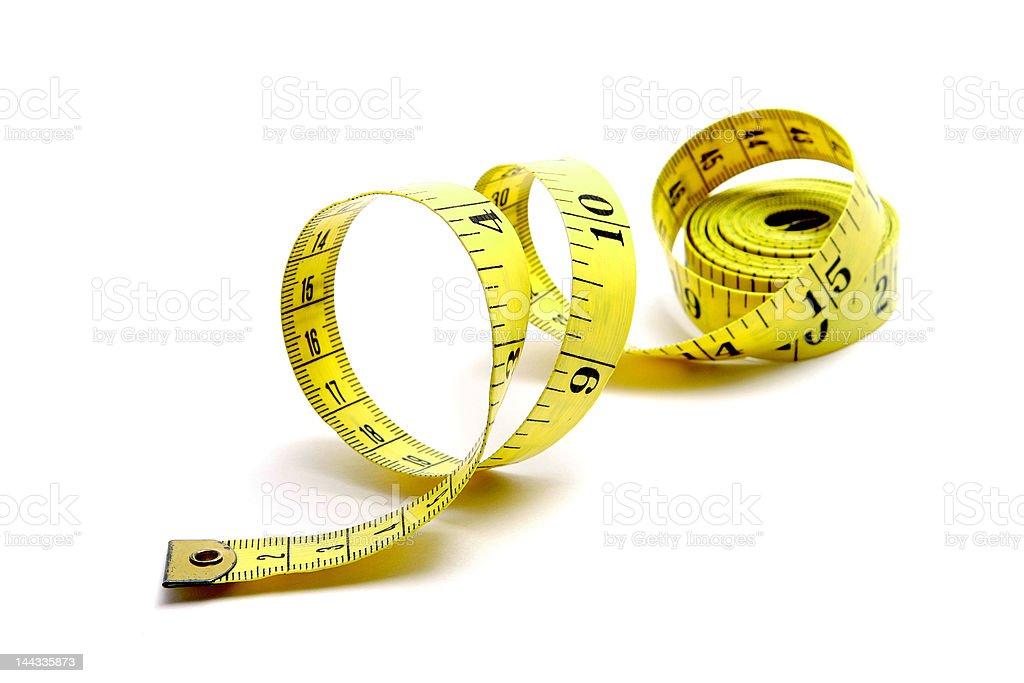 full measuring tape royalty-free stock photo