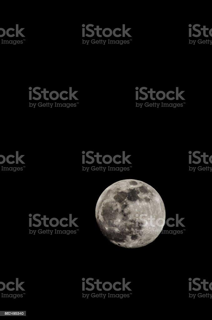 Full Moon 2014 stock photo