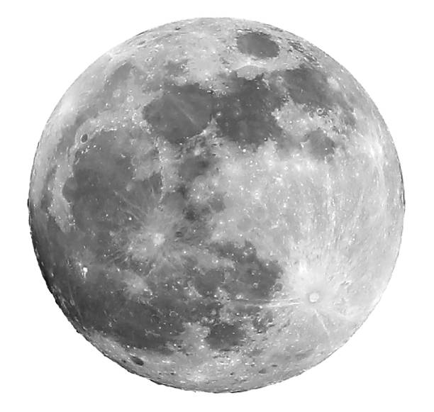 Vollmond und die Krater in der Mitte ist der Copernicus-Cr – Foto
