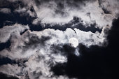 Mysterious picture of the moon