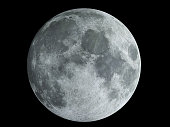Moon, Full Moon, Moon Surface, Planet - Space, Outer Space