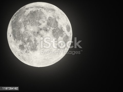 Photo of the Full Moon.