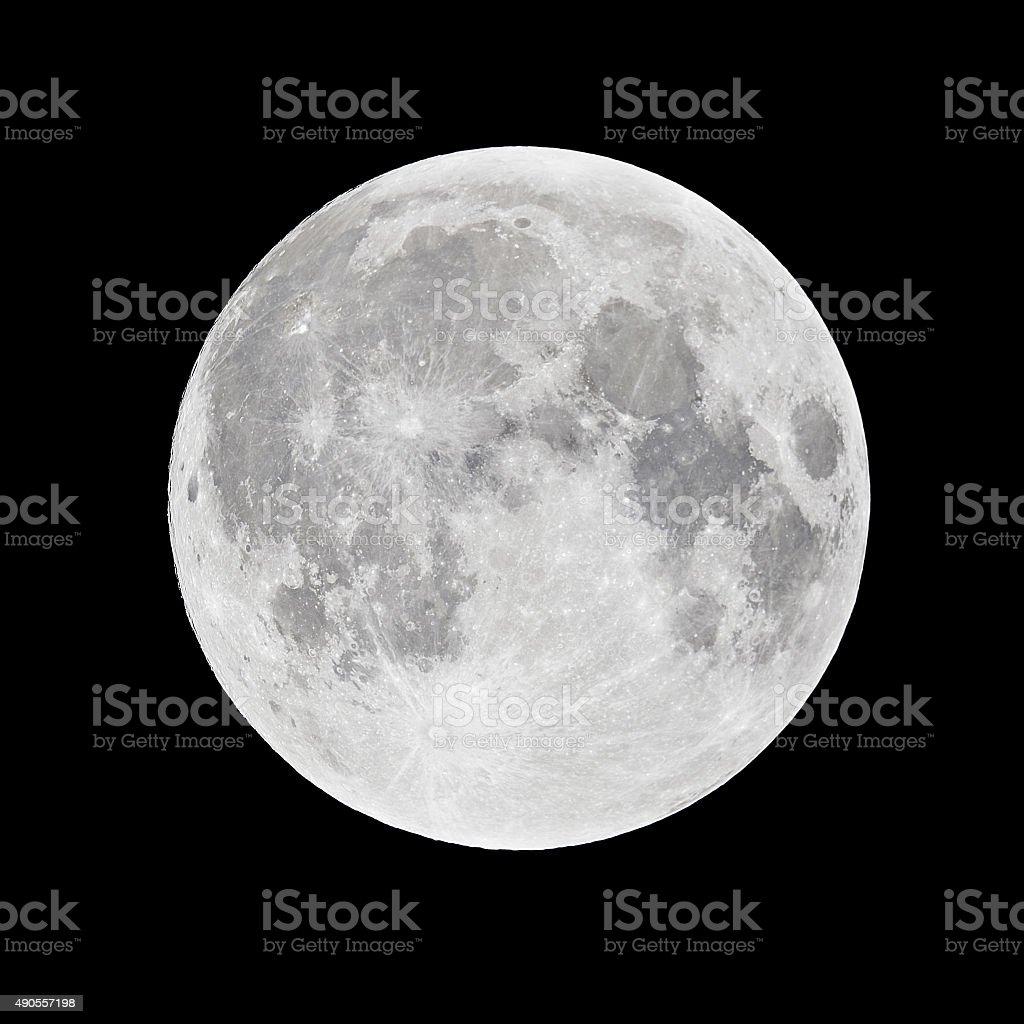 Full Moon - super moon royalty-free stock photo