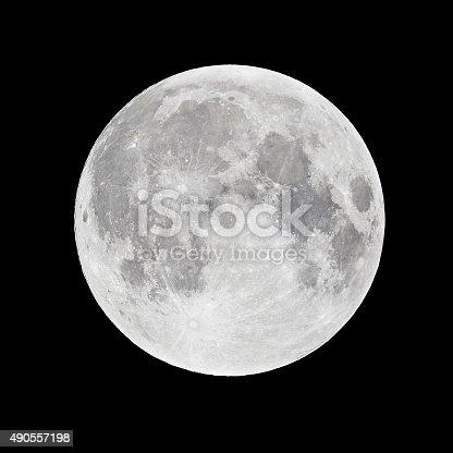Full moon in perygee - called