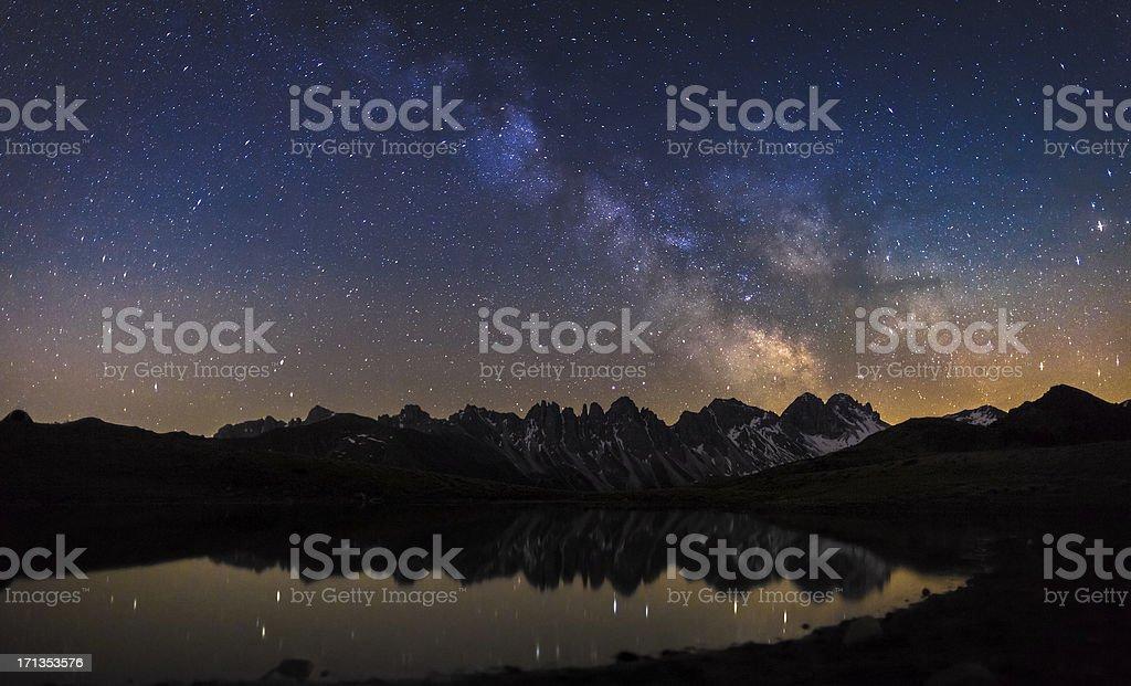 Full of stars stock photo