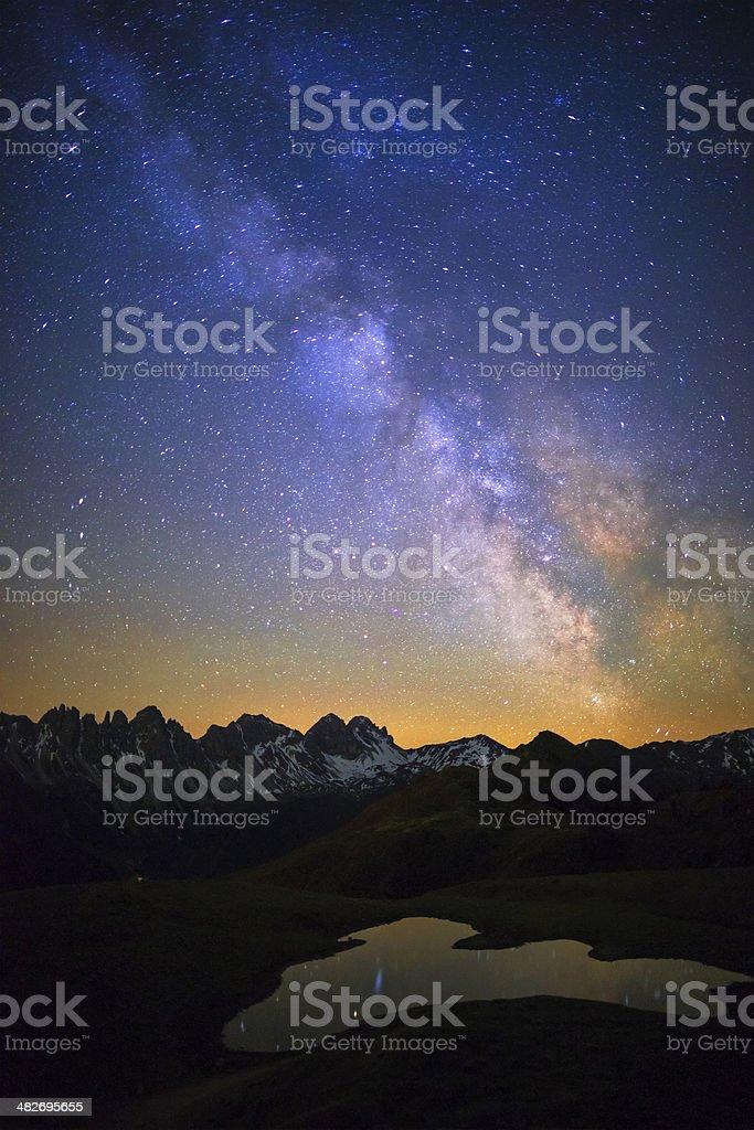 Full of stars royalty-free stock photo