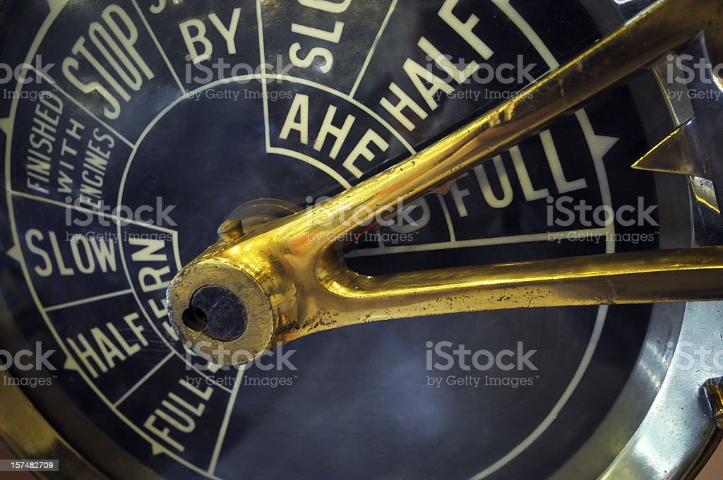Full Power - Royalty-free Antique Stock Photo