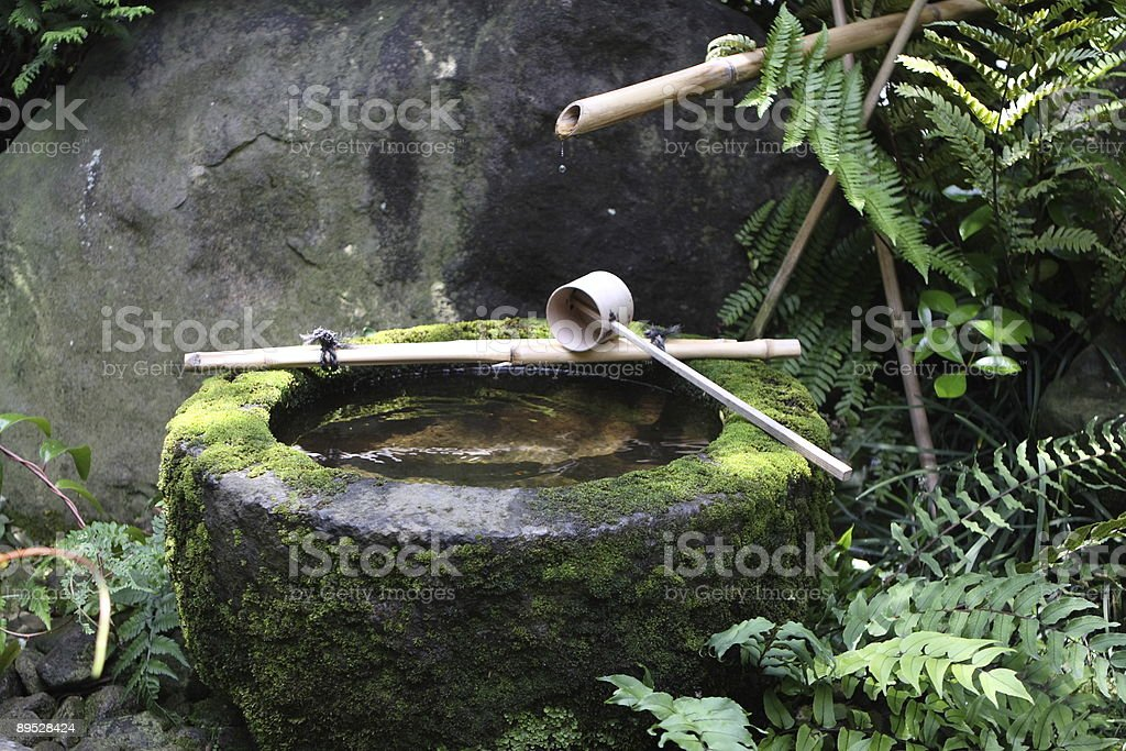 Full shot of Japanese Tea Ceremony royalty-free stock photo