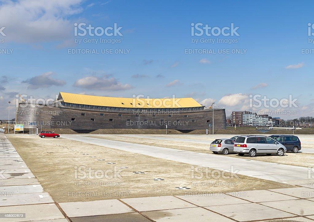 Full size replica of Noah's Ark royalty-free stock photo