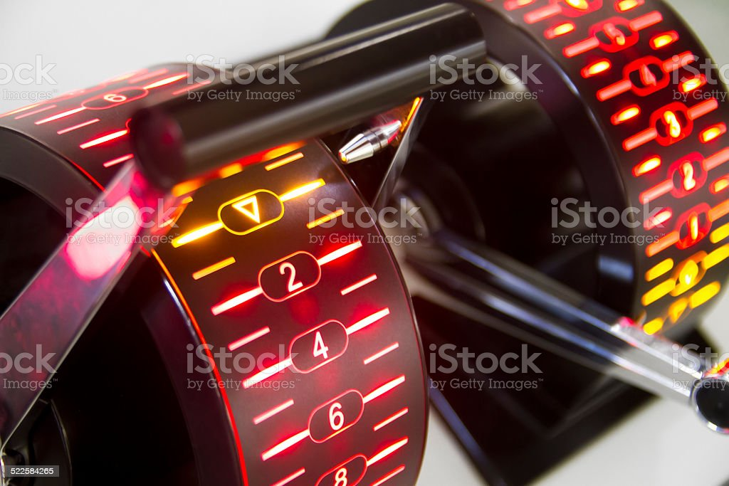 Full throttle stock photo