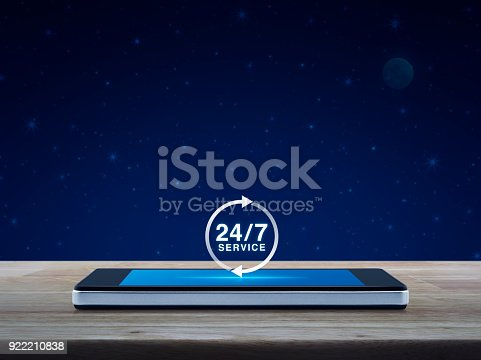 istock Full time service concept 922210838
