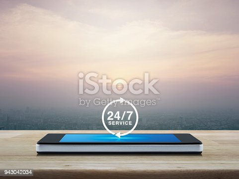 istock Full time service concept 943042034
