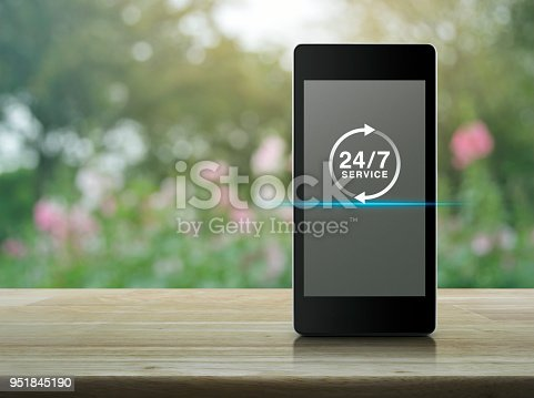 istock Full time service concept 951845190
