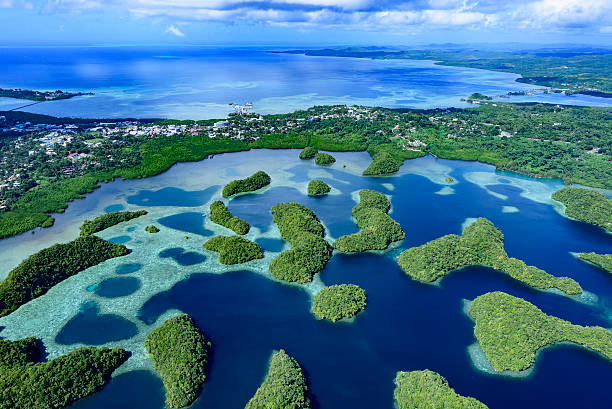 Full view of Palau Koror – Foto