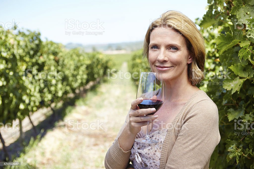 Full-bodied and rich in taste royalty-free stock photo