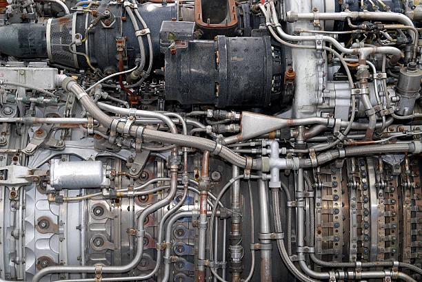 Plein cadre jet engine - Photo