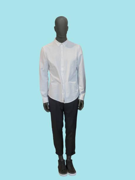 Full-length male mannequin stock photo