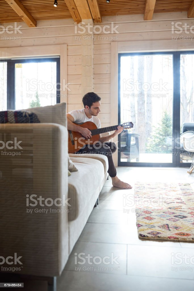fulllength shot of man player royalty-free stock photo