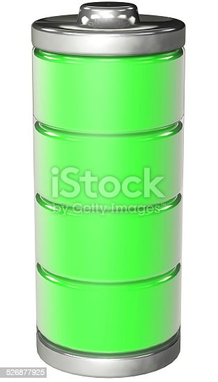 istock fully charged battery 526877925