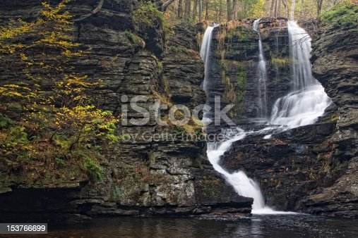 Fulmer Falls in George W. Childs Recreation Site, Pennsylvania