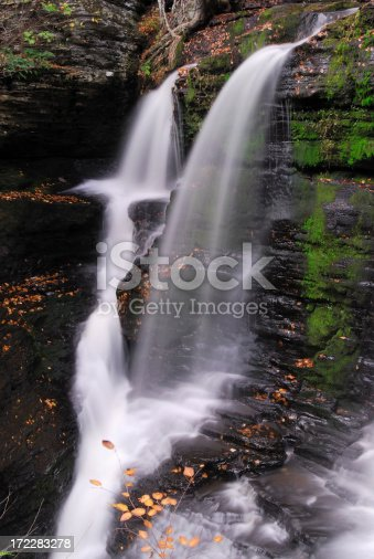 Fulmer Falls at Child Park of Delaware Water Gap National Recreation Area