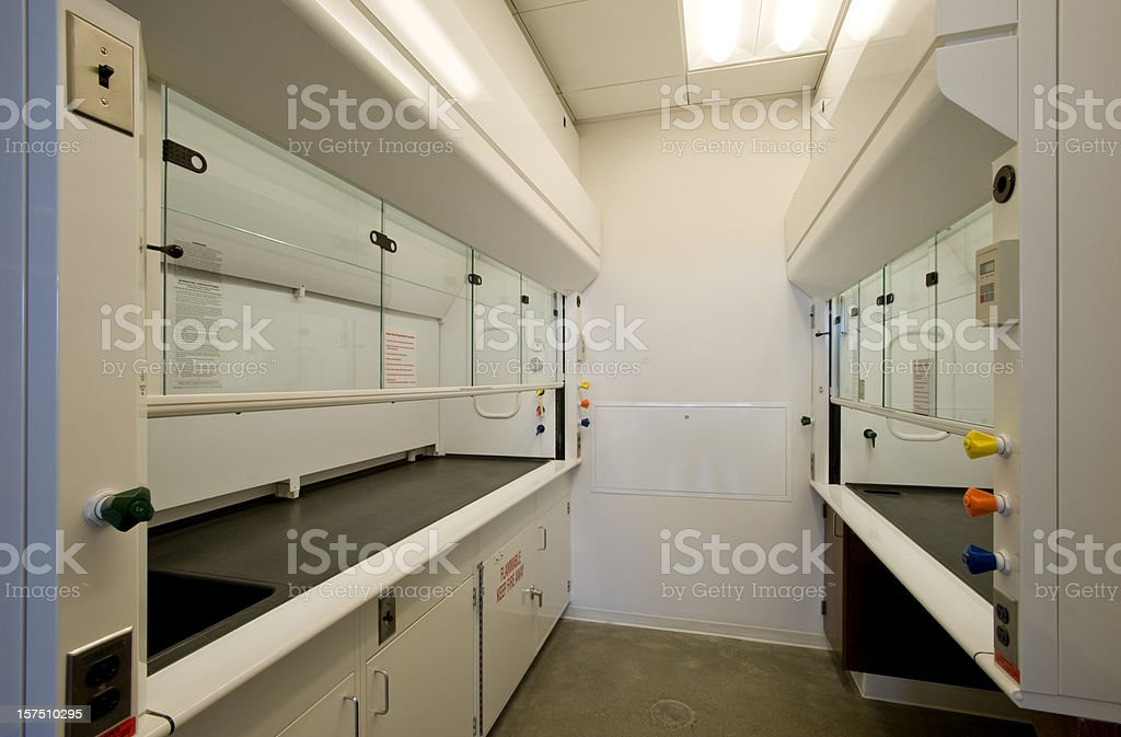 Fume Hood, laboratory stock photo