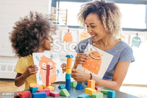 istock Fun activities for 3 years old 618357274