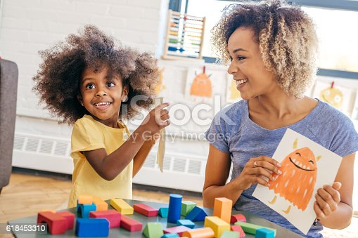 istock Fun activities for 3 years old 618453310