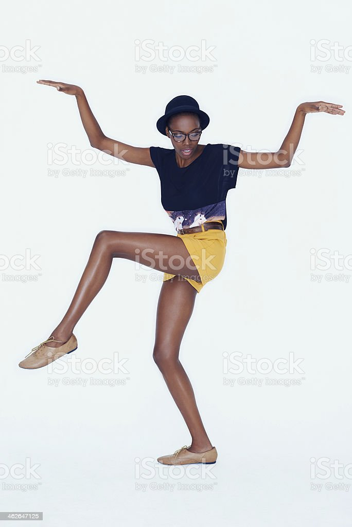 Fun and fashionable stock photo