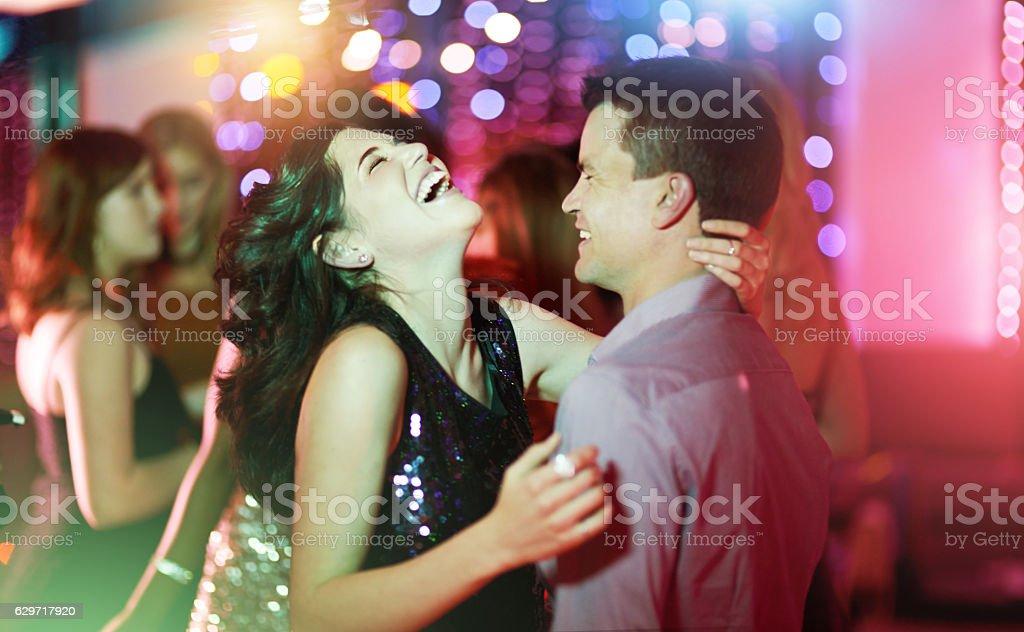 Fun and flirty stock photo