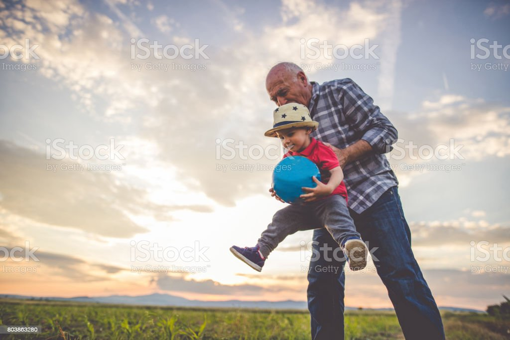 Fun and happy family times - fotografia de stock