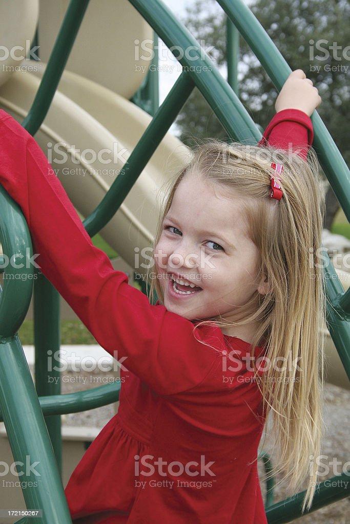 Fun at the Playground royalty-free stock photo