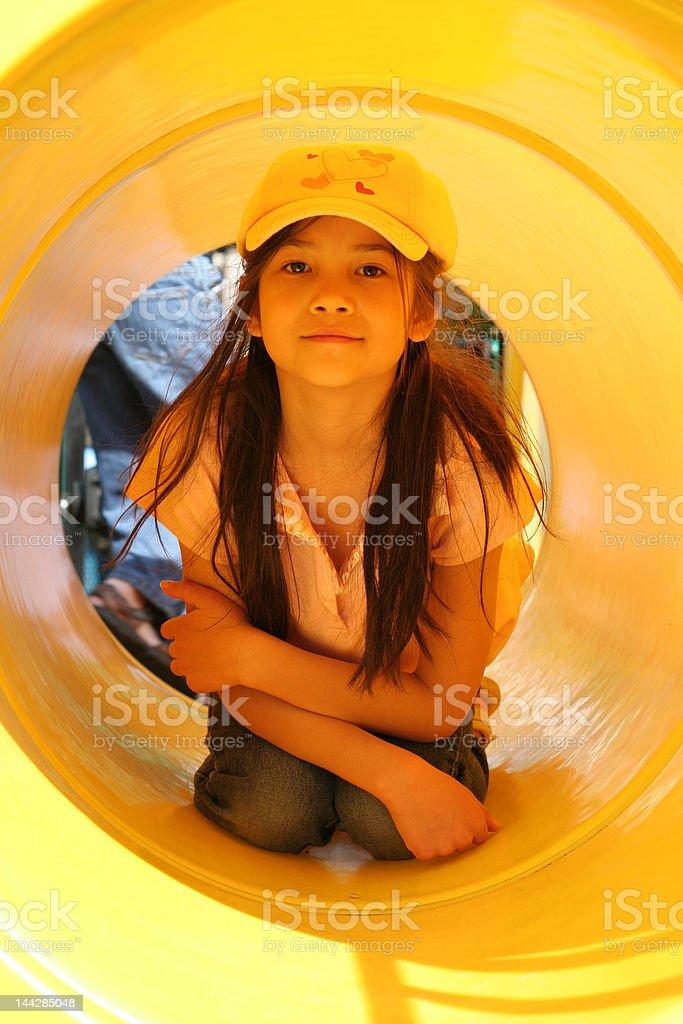 Fun at the Playground series royalty-free stock photo